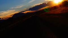 En camino (shiscoco) Tags: sunset sol mxico mexico atardecer roadtrip nubes puebla ocaso siluetas nube tarde mgico magico
