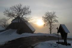 Abendstimmung am Tschögglberg (heinrich.mayer53) Tags: italien landschaft südtirol winterlandschaft