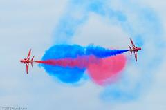 The Red Arrows (alan-evans) Tags: england unitedkingdom redarrows lowestoft baehawkt1a lowestoftairshow2012