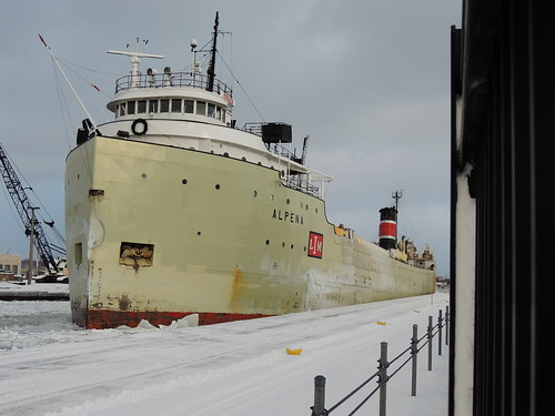 Alpena At The Soo Locks