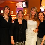 "<b>Begalske Koebrick</b><br/> Cathy (Begalske) married Jon Koebrick at Kinnick Stadium, in Iowa City, Iowa in March 2013. From left to right: Danielle (Deppisch) Marks '90, Diane (Olson) Hinderaker '90, Cathy (Begalske) Koebrick '90,  Kelley (Kruse) Pujol '90.<a href=""http://farm4.static.flickr.com/3729/11712696074_29a1c5ea51_o.jpg"" title=""High res"">∝</a>"
