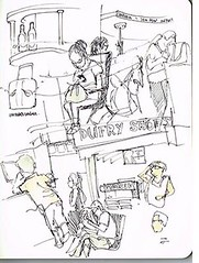 sketchbook (www.samshennan.com) Tags: street shadow streetart playing abstract art moleskine strange lines tattoo illustration ink sketchy paper notebook graffiti cool eyes experimental artist underwater sam faces sweet designer drawing mark surrealism details rad sydney australia sketchbook doodle wicked messy imagination illustrator neat colourful playful making bizarre copic imaginative lifedrawing handdrawn detailed linework inkonpaper shennan artislife passionforart ud3 lovestodraw samshennan theud3 wwwud3tumblrcom wwwtheud3com vision:text=0787 vision:outdoor=0921 ud3samshennan sydneyillustrator hasinkyfingers wwwsamshennancom