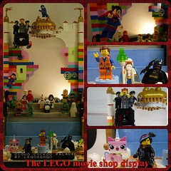 The LEGO MOVIE : shop display (Legoagogo) Tags: game superman batman chichester shopdisplay unikitty legoagogo thelegomovie