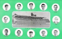 SANKEY OF WELLINGTON FC - Sphinx magazine 1960 (Hadley Castle Works) (bullfield) Tags: stand shropshire stadium wellington hadley wiganathletic gknsankey hadleycastle sankeyofwellingtonfc sankeystadium cheshirecountyleague