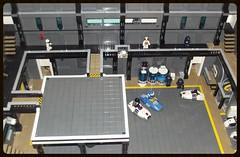Moc base space police III (ced12110) Tags: lego space iii police base moc