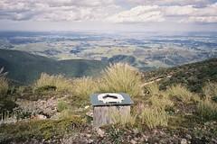 9L (C H E M I C A L S) Tags: newzealand mountain color film analog hiking top negative tussock tramping ruahine opentop colornegative