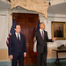 President Hollande and President Obama at Monticello
