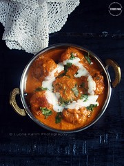 Kashmiri Dum Aloo (lubnakarim06) Tags: recipe potatoes curry sidedish spicy indianfood creamy yummyfood indiancurry babypotatoes indianrecipe winterwarmingrecipe