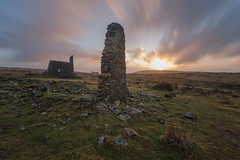 Engine House (jedlangdon) Tags: house sunrise outdoors countryside ruins cornwall day cloudy engine moors bodminmoor minions liskeard vision:mountain=0646 vision:sunset=0785 vision:sky=0945 vision:clouds=096 vision:outdoor=0853