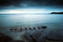 What Remains (Martin Mattocks (mjm383)) Tags: ocean longexposure sky seascape landscapes cornwall horizon coastal wreck canoneos5dmarkii mjm383 martinmattocksphotography hitechproirnd