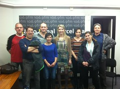 Flora Gómez, Laia Galofré, Albert Armengol i Miguel Ángel Beneján