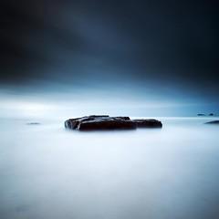 Blue Mist (Martin Mattocks (mjm383)) Tags: longexposure sky seascape water landscapes rocks cornwall horizon fineart coastline cornish canonef1635mmf28liiusm canoneos5dmarkii mjm383 martinmattocksphotography hitechproirnd