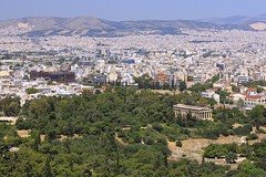 Temple of Hephaistos (oxfordblues84) Tags: building skyline architecture rooftops athens hills greece acropolis greektemple ncl shoreexcursion norwegianspirit norwegiancruiseline templeofhephaistos ancientgreektemple norwegianspiritcruise norwegianspiritshoreexcursion