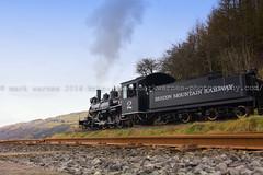 Brecon Mountain Railway (MarkWarnes) Tags: wales train engine breconbeacons merthyrtydfil brecon pontsticill steamtrain powys breconbeaconsnationalpark breconbeaconsmountainrailway trefechen
