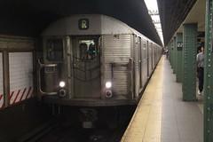 IMG_8654 (GojiMet86) Tags: street new york city nyc subway lexington mta avenue 59 1964 r32 bmt 59th 3805 3377 3445 3579 3376 3468 3518 3519 3578 3804