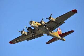 B-17G at Moffett Field 05-24-2014