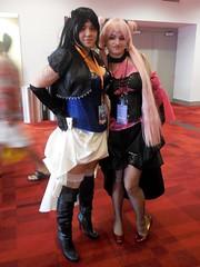 Mistress Nine & Black Lady (Wrath of Con Pics) Tags: cosplay sailormoon blacklady momocon mistressnine momocon2015