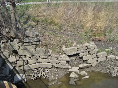 Old River Wall