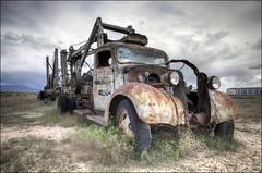 1940 Chevrolet 3000 Norris Cox Well Truck - Cisco, Utah (helikesto-rec) Tags: chevrolet abandoned truck utah 1940 cisco chevy welltruck
