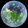 Terraformed Mars (Kevin M. Gill) Tags: mars terraforming computergraphics space