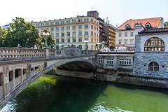 IMG_9755 (ludo.depotter) Tags: ljubljana ljubljanica slovenië drakenbrug