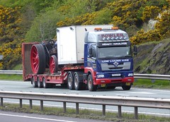 Photo of PX53 FHT - Foden Alpha 3000 /King low-loader semi-trailer - T.W. Bowler Ltd., Offerton. Stockport, Cheshire.