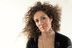 Angel (simone781) Tags: woman beautiful beauty highkey curly hair long brown lovely cute studio canon tamron247028 simone781 cleanportrait monnalisa smile monalisa