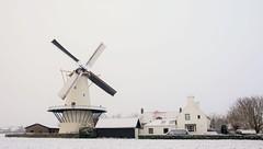 Molen Koudekerke (Omroep Zeeland) Tags: ochtend koudekerke molen weer weerfoto natuur zeeland walcheren landschap zeeuwse sneeuw rtlweerfoto meteogroep
