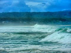 sml-fhdr-DSCN0168 (elphweb) Tags: roughseas roughsea ocean nsw australia sea water waves breakers storm coast coastal falsehdr fhdr bigwaves bigsurf surf foam mist