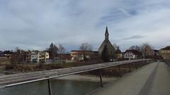 nach Oberndorf/Laufen