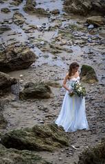 El Matador (Robert Borden) Tags: bride gown white wedding portrait candid beach coast pacific ocean sea fromabove photoshoot elmatador malibu rocky socal la losangeles california west westcoast southwest usa northamerica