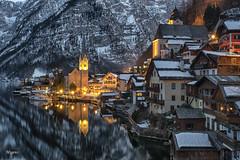 Hallstatt. Austria. Armonía y belleza. (angelrm) Tags: hallstatt austria nocturna pwmelilla