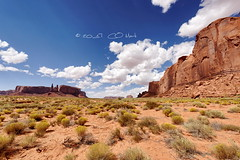 The three Sisters, Monument Valley (Claude-Olivier Marti) Tags: monumentvalley amérique amériquedunord usa unitedstates nationalpark navajo paysage