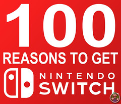 100 REASONS TO GET THE NINTENDO SWITCH! (Luigi Fan) Tags: 100 reasons get nintendo switch console handheld video games