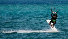 Kite Surfers El Gouna Egypt (lesley1556) Tags: sonyrx10iii sony kitesurfing elgouna egypt surfing kite
