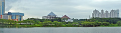 Panorama Waduk UNESA (Everyone Sinks Starco (using album)) Tags: surabaya eastjava jawatimur universitas university waduk reservoir