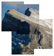 Mount Rundle (reidcrosby) Tags: mount rundle banff alberta canada collage