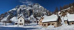 Church in winter (filippo rome) Tags: italia italy neve snow devero crampiolo vco parcoregionalealpevegliaealpedevero visitpiedmontitaly