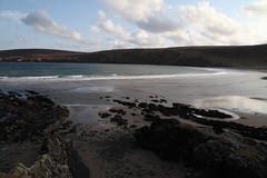 Sand of Tresta by Linda Nicholson (P&L Nicholson Photography) Tags: sea beach clear waters isles shetland fetlar tresta