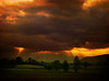 IMG_0705 country sunset (pinktigger) Tags: sunset italy sun landscape countryside italia country rays friuli fagagna feagne