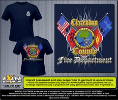 "CLARENDON CO FIRE DEPT 01304288 TEE • <a style=""font-size:0.8em;"" href=""http://www.flickr.com/photos/39998102@N07/9042212265/"" target=""_blank"">View on Flickr</a>"