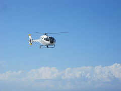 just fly... (alifabokeh) Tags: morning blue sky cloud beach canon indonesia helicopter yogyakarta parangtritis parangtritisbeach tniau canonpowershotsd780is