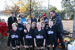 20130706 Auskick at Giants Game