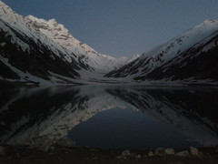 Saif ul Maluk Lake (Sayed Abdullah Hussain) Tags: sunset lake reflection water evening saifulmaluk saifulmalook