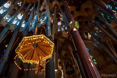 Barcelona - Sagrada Familia, Suspended Crucifix (Yen Baet) Tags: barcelona sculpture espaa art church architecture spain christ cross cathedral interior basilica religion architect spanish crucifix sagradafamilia catalan romancatholic antonigaudi alatar yenbaet baslicaitempleexpiatoridelasagradafamlia