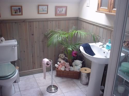 Banheiro simples e bonito