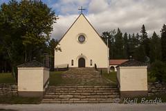 Ylitornio church, Finnland (kjellbendik) Tags: finland europa ferie kirke kirker 2013 byggning geografisk naturoglandskap