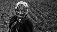 (bmahesh) Tags: portrait people blackandwhite woman india canon oldlady oldwoman canon5d farmer karnataka mahesh mysore hardwork cwc canonef24105mmf4isusm canoneos5dmarkii chennaiweekendclickers bmahesh cwc276 nearpandavpura
