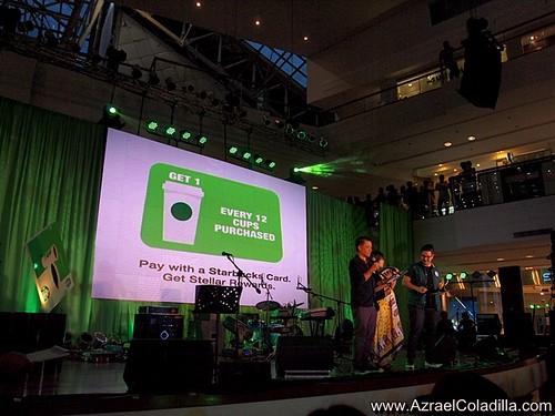 Starbucks Reward Card launch @ Glorietta - photos by Azrael Coladilla