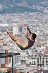 Ivan Garcia (robnunn) Tags: people divers events ivangarcia smcpentaxda50135mmf28edifsdm bcn2013 10mplatformmensdivingfinal fina2013